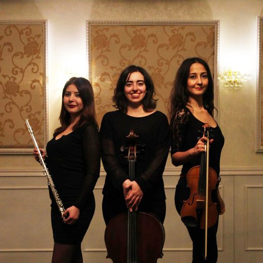 Trio  Keman Çello Flüt